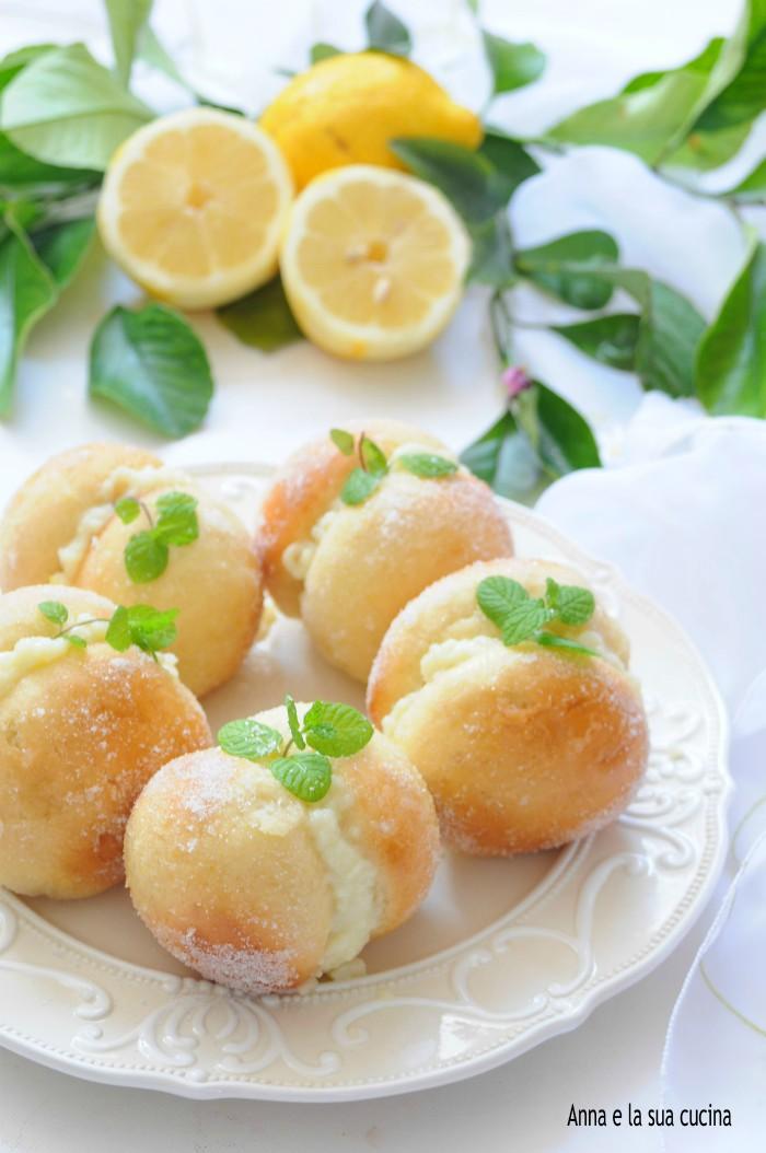 Pesche dolci bianche al limoncello