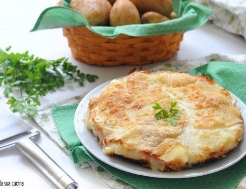 Tortino di patate dal cuore morbido