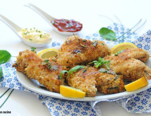 Alette di pollo con panatura saporita