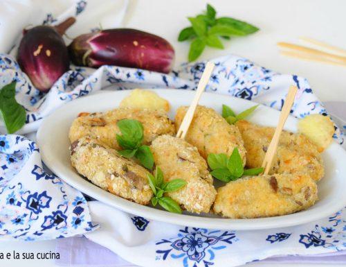 Crocchette di patate e melanzane