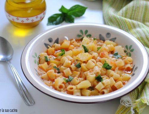 Pasta e patate ricetta semplice