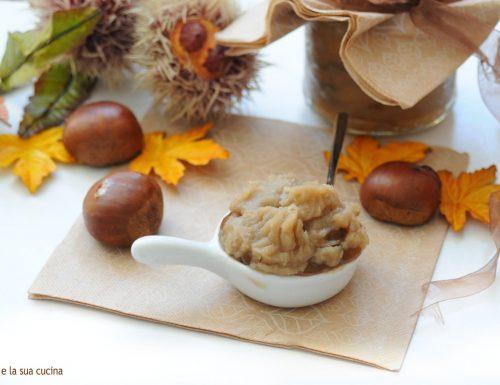 Confettura di castagne alla vaniglia