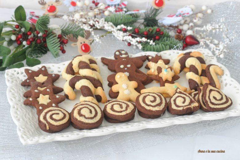 Biscotti natalizi senza lattosio