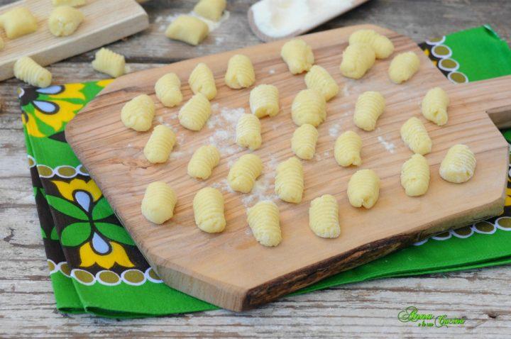 Gnocchi patate senza uova