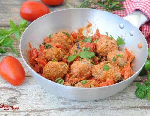 Polpette al sugo di pomodori freschi