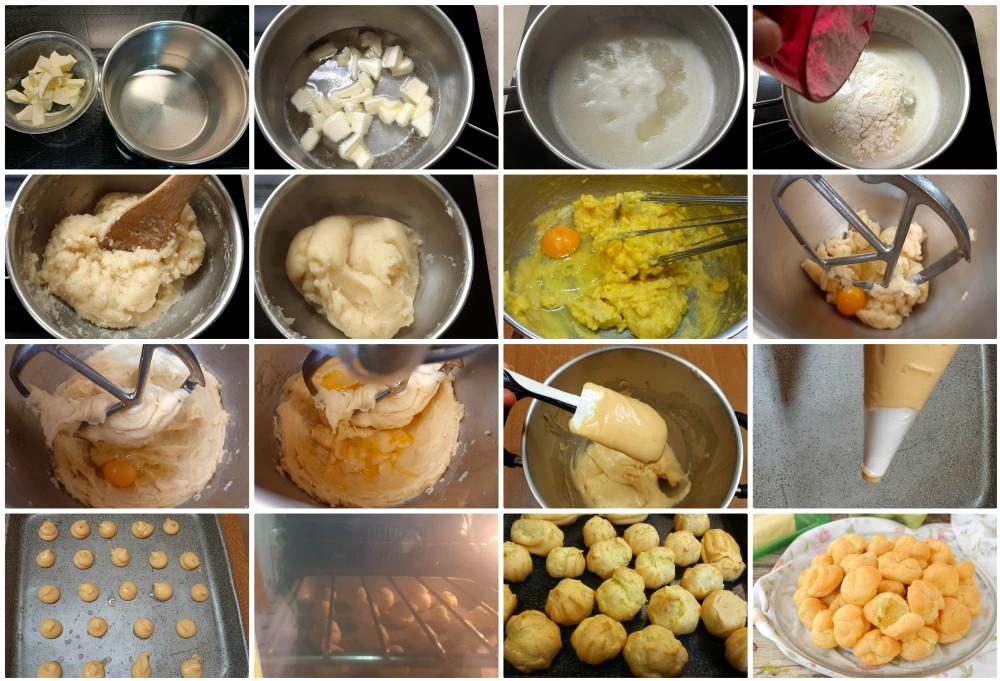 Pasta choux ricetta e consigli