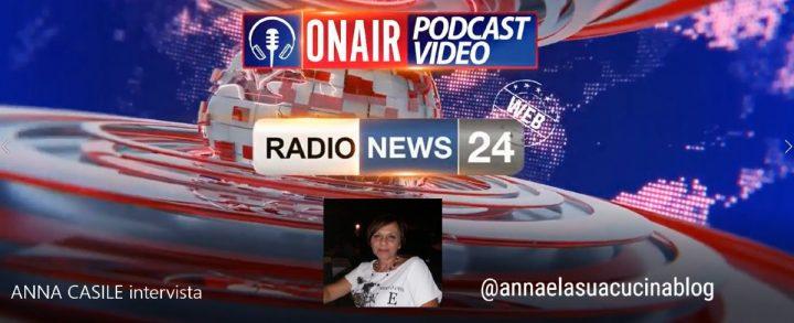 La mia intervista su Radio News 24
