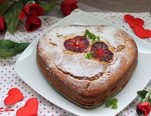 Cuore di pan d'arancio morbido e profumato