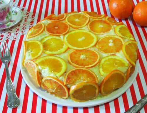 Torta farcita all'arancia