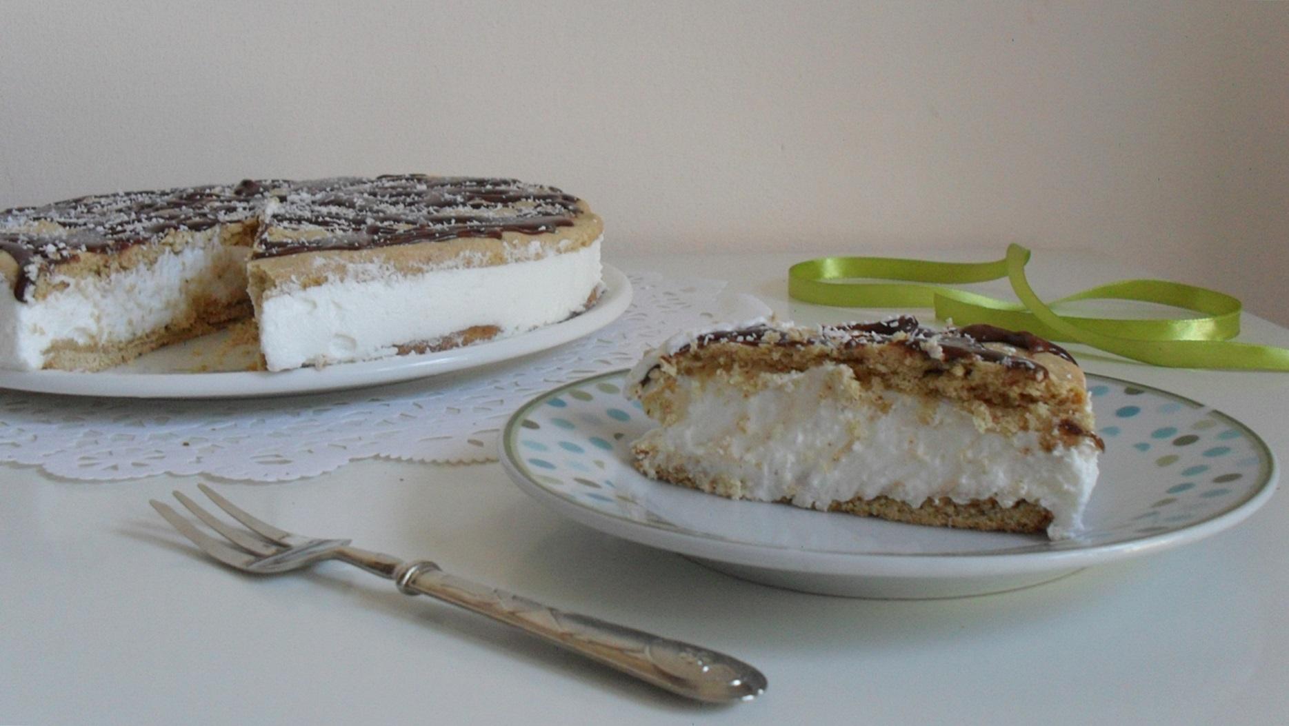 torta ricotta e cocco