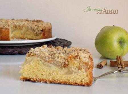 Torta cuor di mela con amaretti (con o senza Bimby)