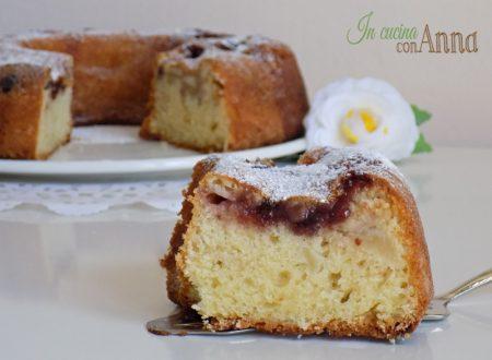 torta di mele e ciliegie