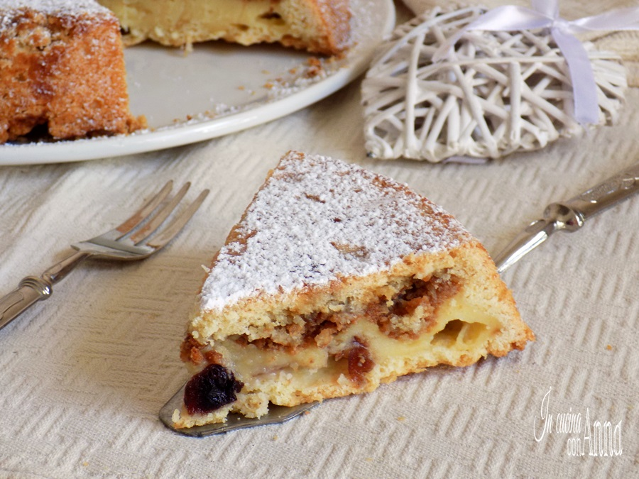 crostata crema e amarene