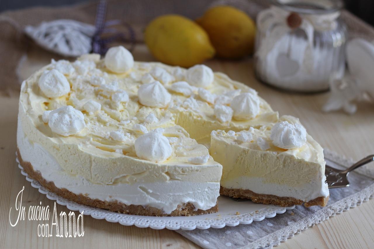 Semifreddo gelato al limone