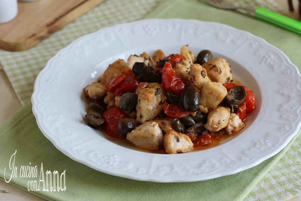bocconcini di pollo alla siciliana