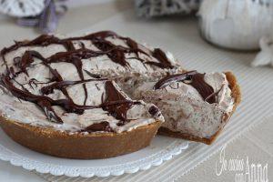 crostata fredda variegata alla nutella (anche versione gelato)