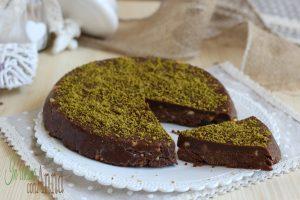 torta pistacchiotto (semplice e golosa senza forno)