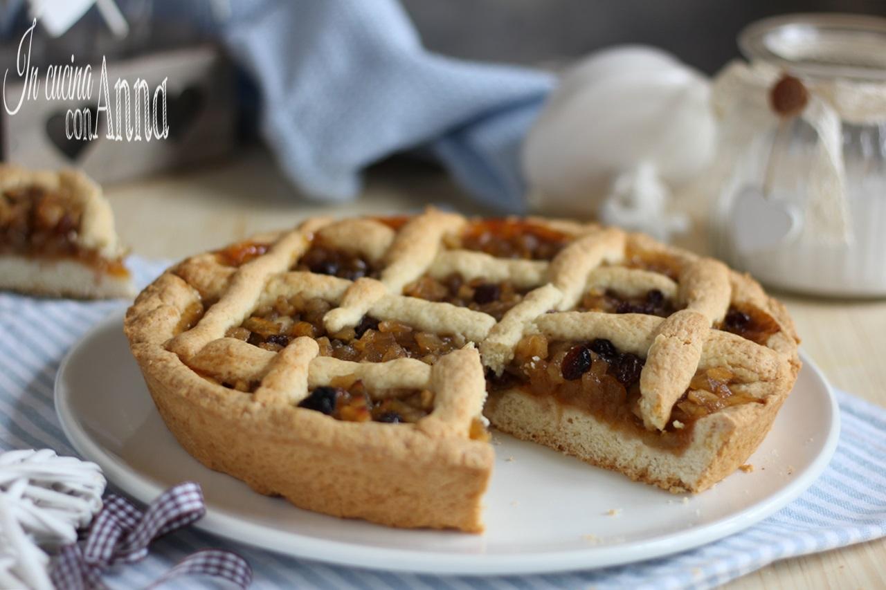 Crostata di mele e marmellata dolce semplice e goloso da for Crostata di mele