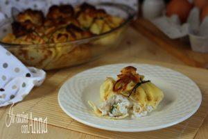 Fagottini zucchine e gamberetti