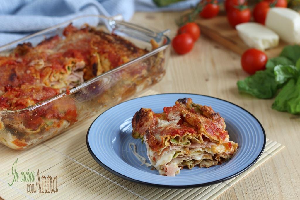 Parmigiana di zucchine saporita
