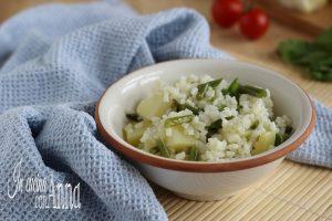 Insalata di riso fagiolini e patate