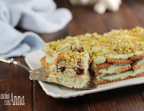 Semifreddo pistacchi e amarene
