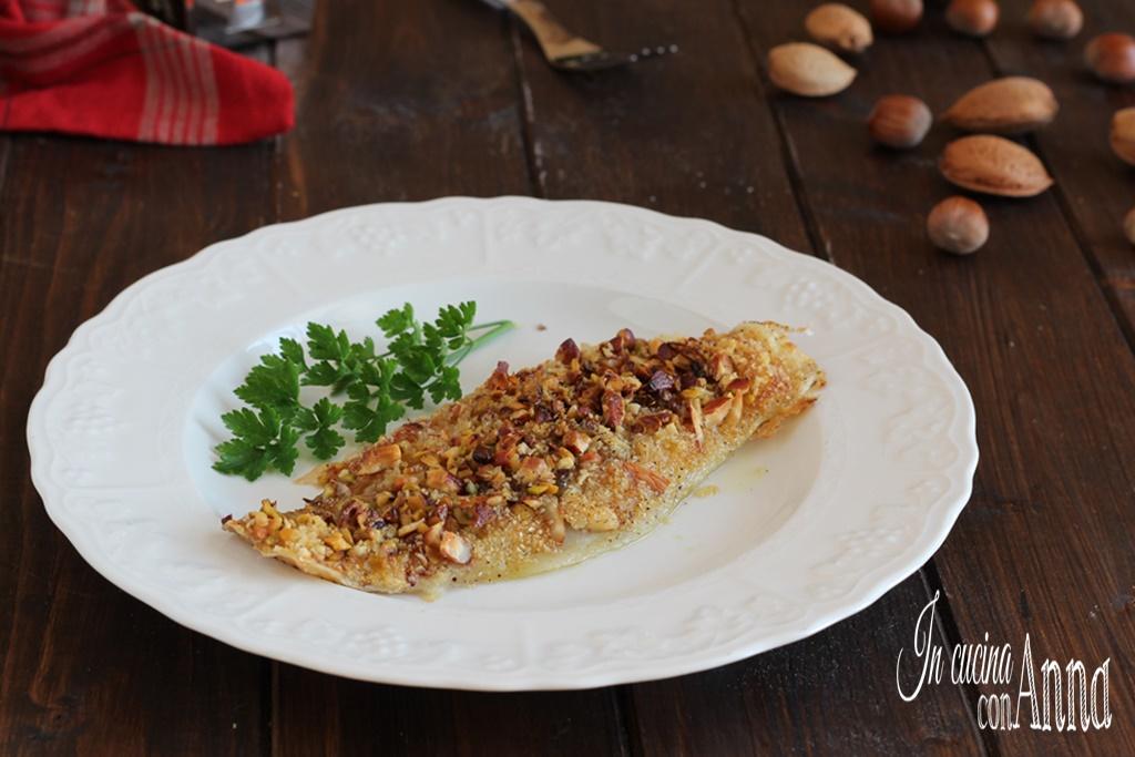 Filetto Di Pesce In Crosta Di Mandorle