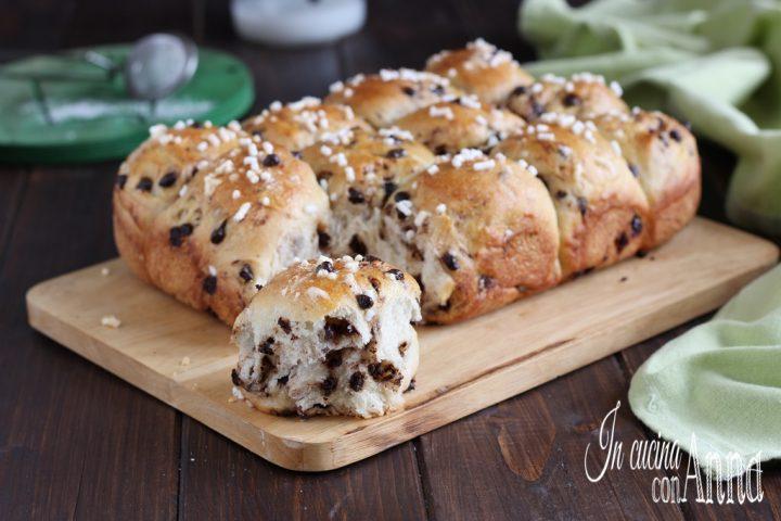 Pan di panna al cioccolato