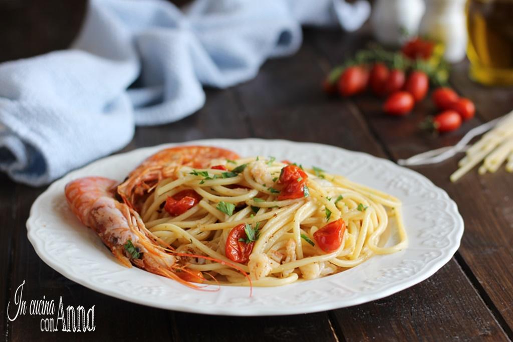 Spaghetti ai gamberi