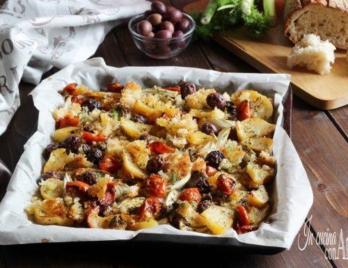 Finocchi e patate gratinati alla Siciliana