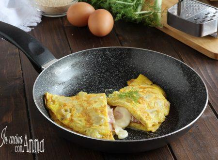 Omelette di finocchi e prosciutto