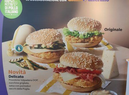Sono arrivate le nuove e irresistibili McChicken Variation create da McDonald's e GialloZafferano