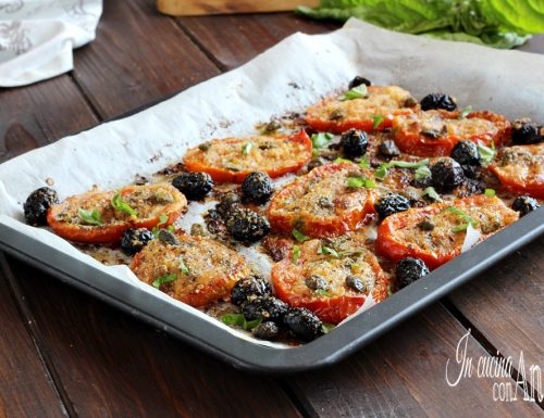 Pomodori gratinati alla Siciliana