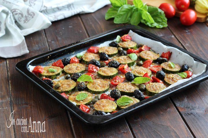 Zucchine gratinate alla Siciliana