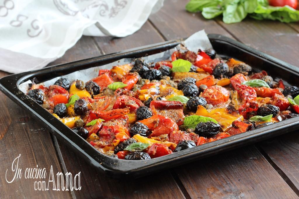 Peperoni gratinati alla Siciliana