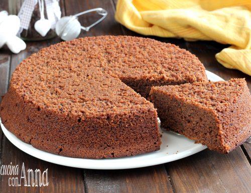 Torta amaretti e cioccolato