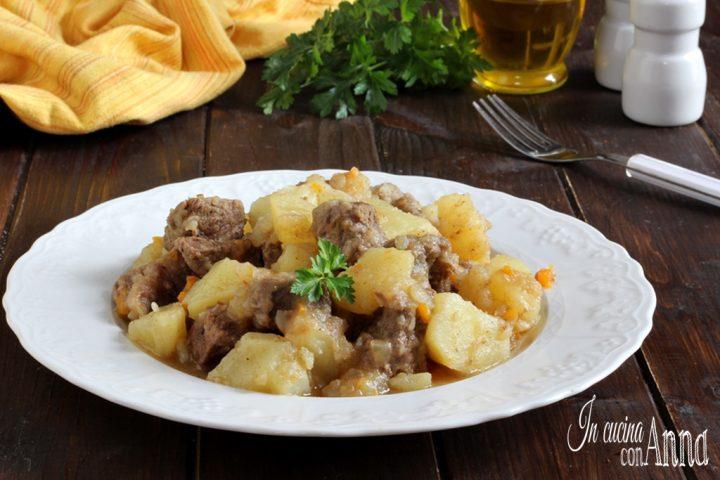 Spezzatino cremoso con patate