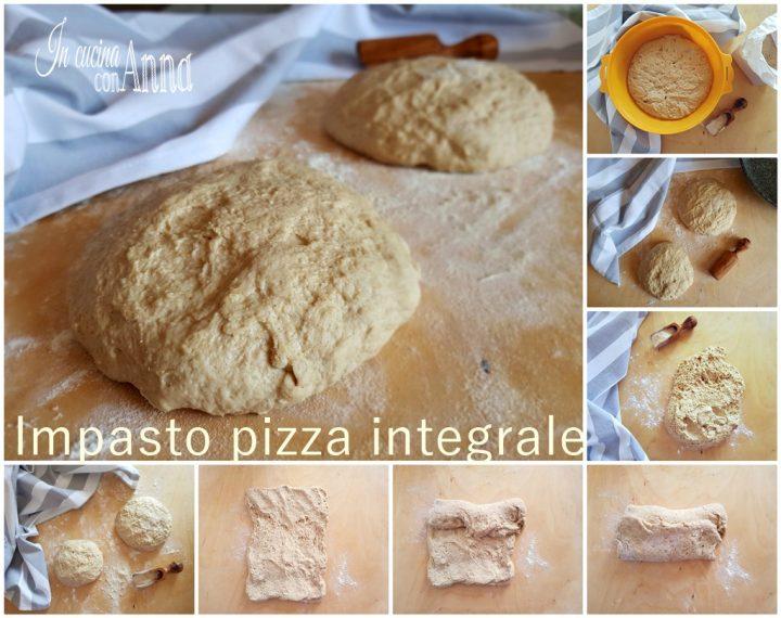 Impasto pizza integrale
