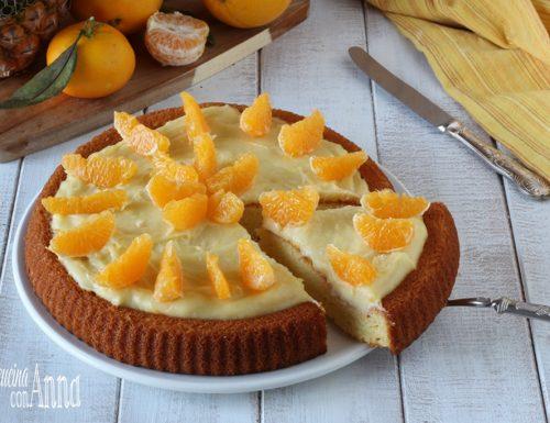 Crostata all'arancia, ananas e cioccolato