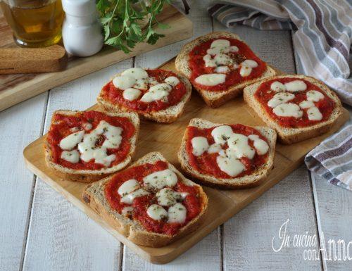 Pizzette di pane