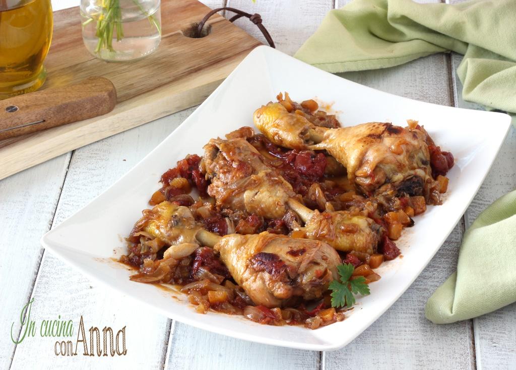 Cosciotti di pollo alla Genovese