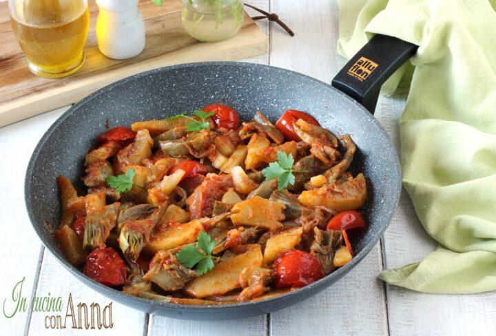 Carciofi e patate alla Siciliana