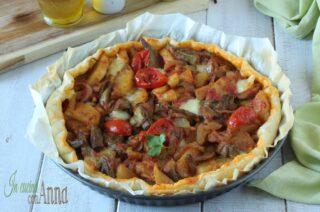 Torta di carciofi e patate alla Siciliana