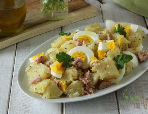Insalata di patate tiepida