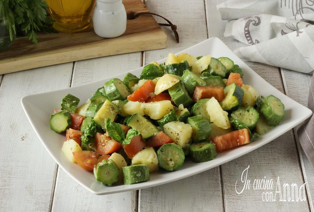 Insalata di zucchine e patate