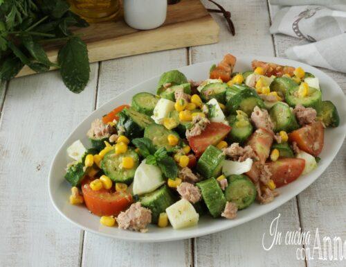 Insalata di zucchine estiva