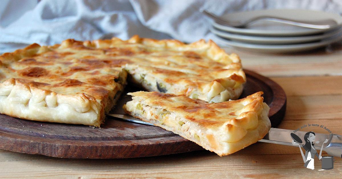 Eccezionale Torta salata tonno mozzarella e olive nere | Annatorte LK84