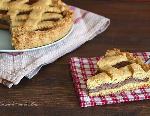Crostata Nutella e ricotta