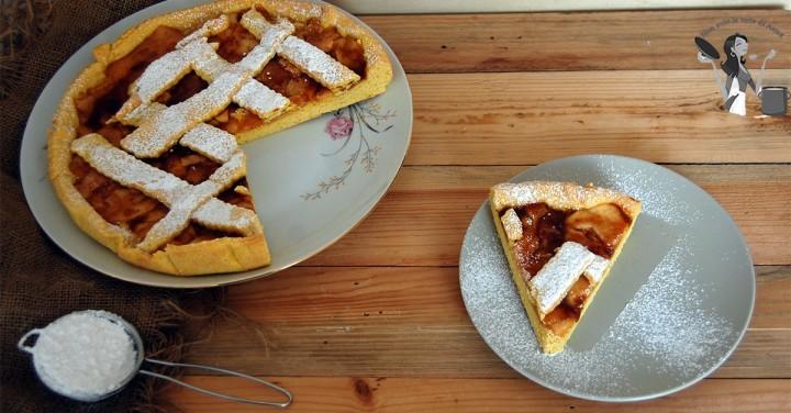 crostata di fichi noci e mele ricetta
