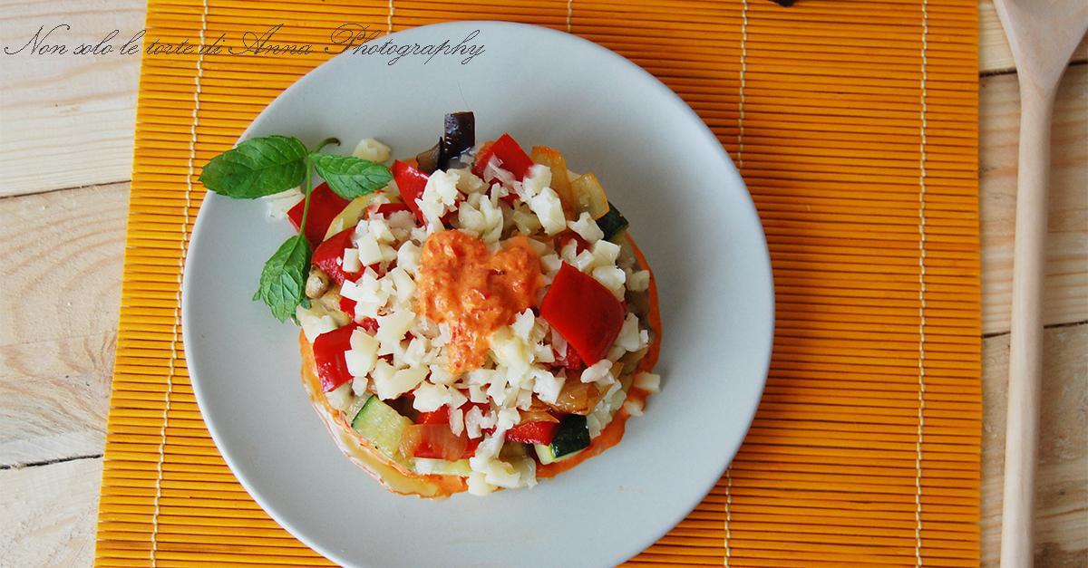 Ricetta moussaka vegetariana